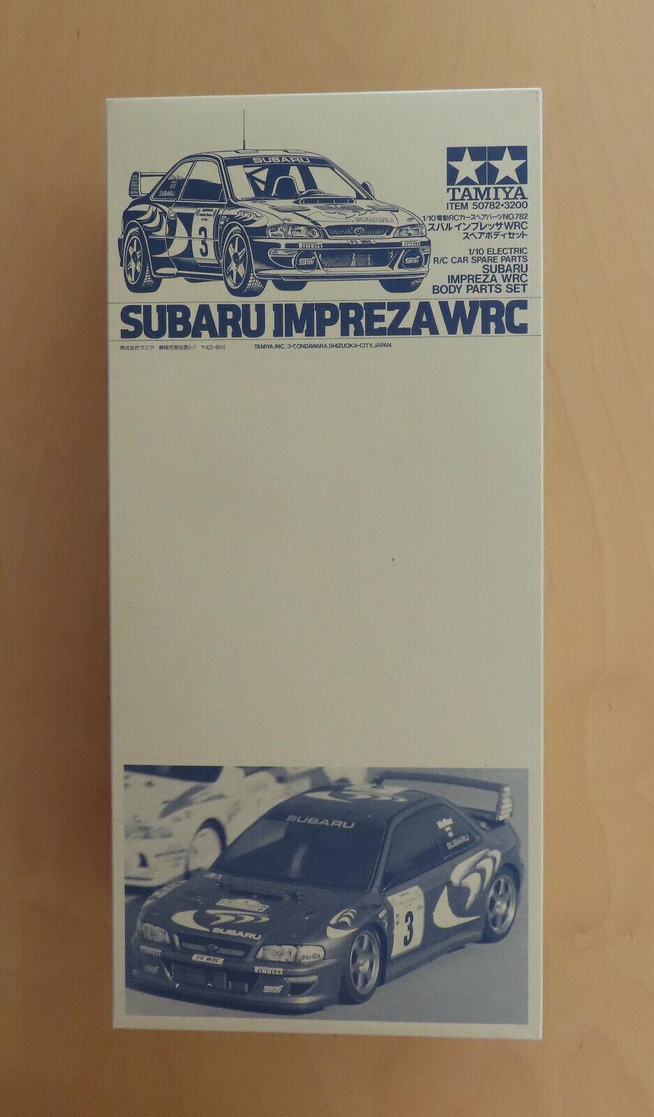 RC Tamiya 50782 Body Part Set Subaru Impreza WRC 1998 NEU NIB