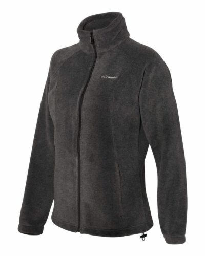 Womens Fleece JACKET or VEST Benton Springs Ladies Size XS-XL Columbia 2XL