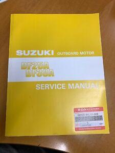 Details about Genuine Suzuki Workshop Service Manual 25HP 30HP 4-Stroke on