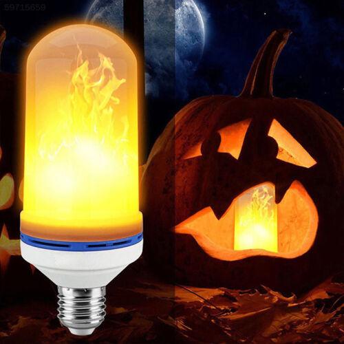 1FEF Home Atmosphere Lamp LED Fire Light Flame Effect Lamp Corn Bulb Creative
