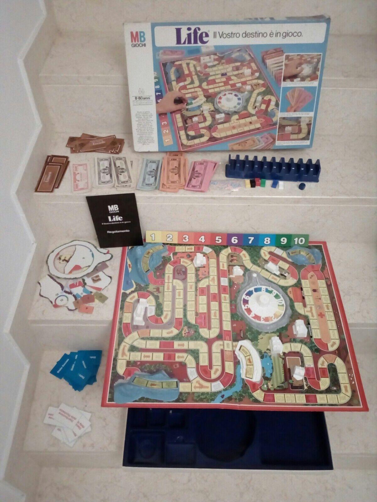 Venta barata RARO vintage collezione gioco scatola scatola scatola LIFE destino traguardi 1980 MB  diseñador en linea
