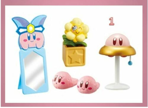 Re-Ment Miniature Kirby Super Star Kirbys Happy Room 600yen RARE NOW No.01