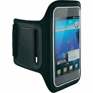Per-Samsung-Galaxy-A50-Fascia-da-Braccio-Astuccio-Jogging-Corsa-in-Neoprene-Nero