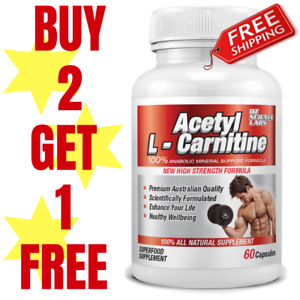 Acetyl-L-Carnitine-Weight-Loss-Fat-Burn-Alcar-Nootropric-Buy-2-Get-1-FREE