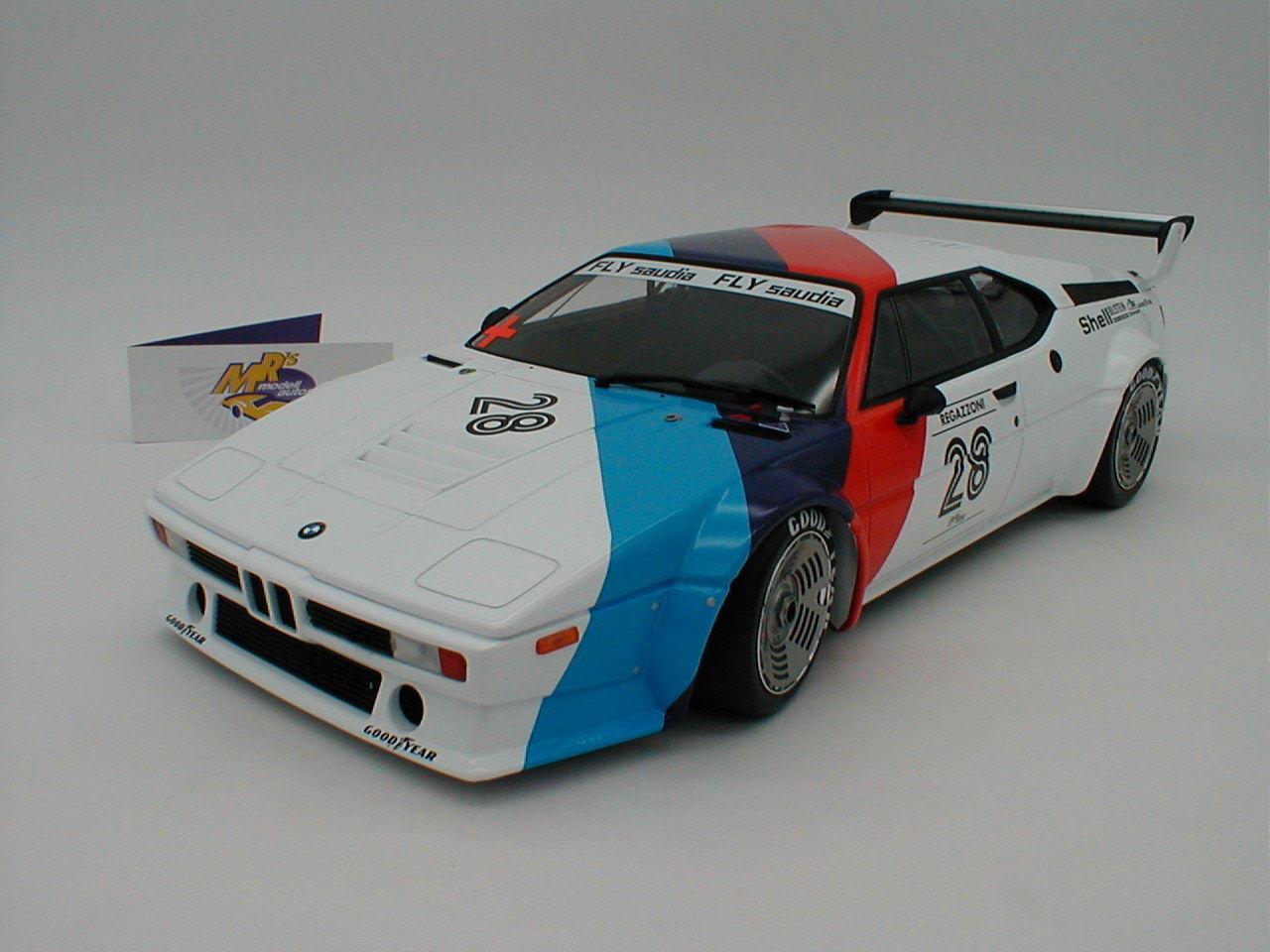 MINICHAMPS 125792928-Bmw m1 PROCAR SERIE 1979  Clay Regazzoni  1 12 Nouveauté