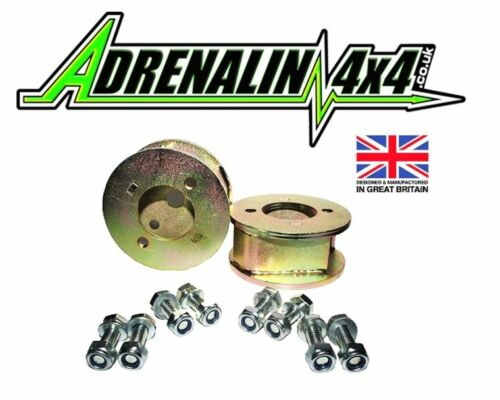 """front only Land Rover Discovery 1 2/"""" inch lift blocks for suspension lift"""