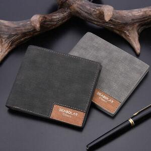 Fashion-Mens-Leather-Money-Clip-Slim-Wallet-ID-Credit-Card-Holder-Case-Purse-Hot