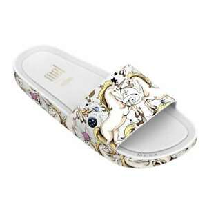 Mini Melissa Girls Kids Mel Beach Slide 3DB Summer Sandals Slides Slippers NEW