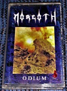 Morgoth-Odium-Cassette-Tape-VG-Death-Metal-Century-Media-Official