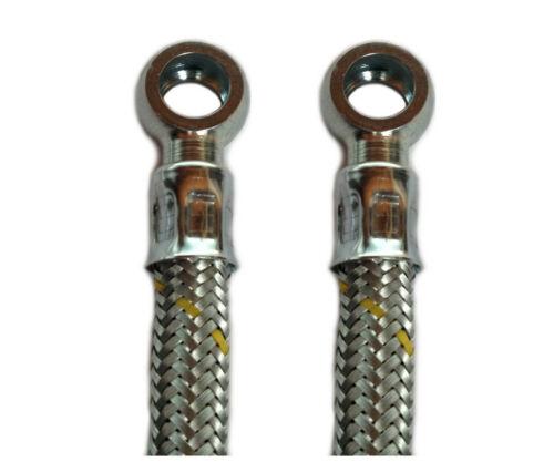 De combustible diesel tubería dirección de gasolina tubería de acero tejidos ringöse en ambos lados