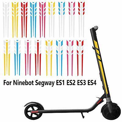 DIY Light Reflective Stickers Decor For Ninebot Segway ES1 ES2 ES3 ES4 Scooter