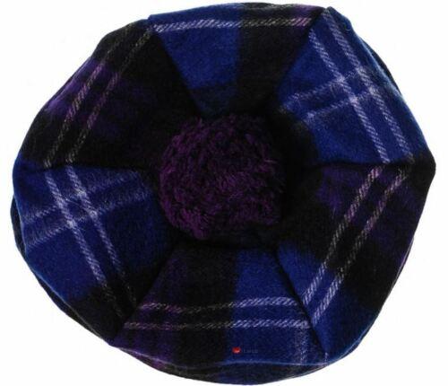 Femmes laine d/'agneau Tammy chapeau en Heritage of Scotland Tartan Taille Unique