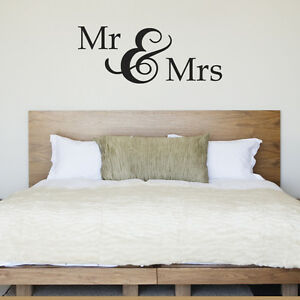 Mr Mrs Wall Sticker Gift For Anniversary Or Wedding Home Decorators Catalog Best Ideas of Home Decor and Design [homedecoratorscatalog.us]