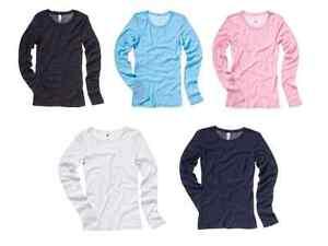 Long-sleeve-ladies-top-sheer-mini-rib-tee-Bella-Canvas-6-colours-sizes