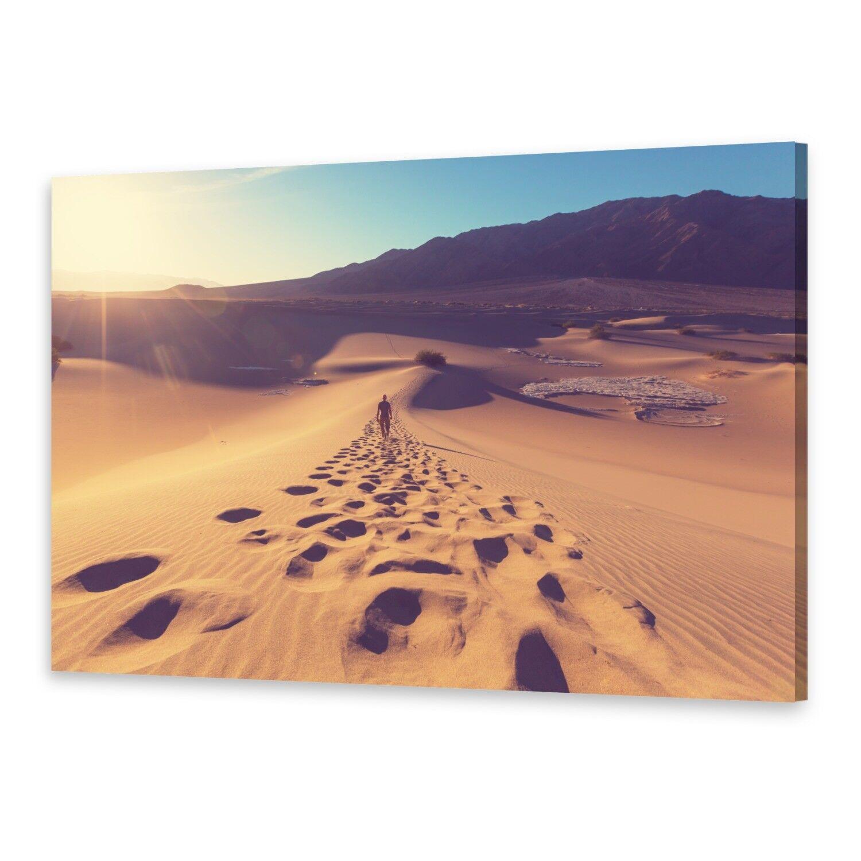 - Tela Immagini Immagine Parete stampa su canvas stampa d'arte deserto sabbia