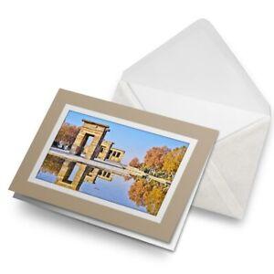 Greetings-Card-Biege-Temple-of-Debod-Madrid-Spain-8921