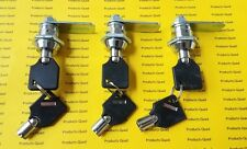3 Pack Tubular Cam Lock 58 Rv Camper Drawer Cabinet Toolbox Keyed Alike