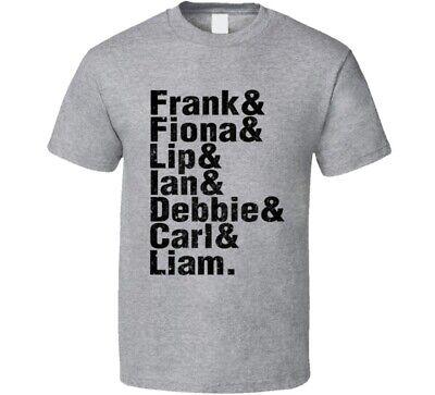 I Am A Gallagher T-shirt Femmes Ian Lip Debbie Frank Fiona Carl Shameless Fun
