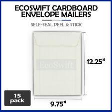 15 975 X 1225 Self Seal White Photo Ship Flats Cardboard Envelope Mailers