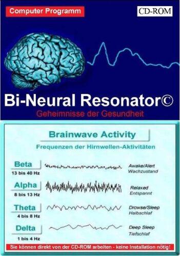 Software Bi-Neural Resonator Hirn Synchronisation ELF-Funktion Frequenz Resonanz
