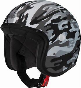 CABERG-Freeride-Mando-jethelm-Casco-Moto-Scooter-Casco-Retro-schalenhelm