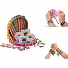 Jewelry Making Kit For Kids Girls Friendship Bracelets Maker Diy Activity Set