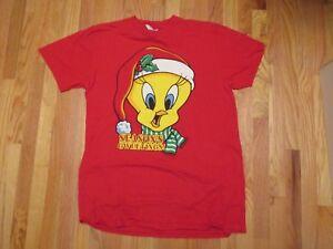 Seasons-Greeting-Gweetings-Tweetie-Bird-T-Shirt-Size-XXL-2XL