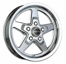 "17X10.5 RACESTAR DRAG STAR CAMARO RACING WHEEL PRO 1pc NO WELD 5X120 7""BS"
