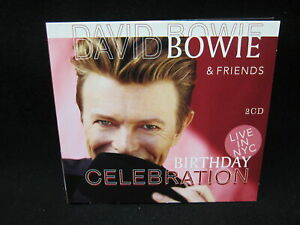 David-Bowie-amp-Friends-2CD-Live-in-NYC-Birthday-Celebration-NM-Original-Case