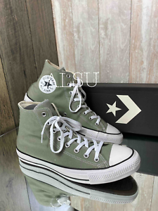Sneakers-Men-039-s-Converse-164933F-Chuck-Taylor-All-Star-High-Top-Jade-Stone-Green