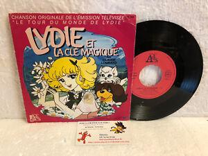 45t Generique Lydie Et La Cle Magique Claude Lombard Ades Tour Du