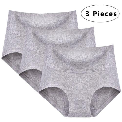 6pcs Damen Baumwolle Slips Komfort Unterhosen Schlüpfer Unterwäsche Nahtlos