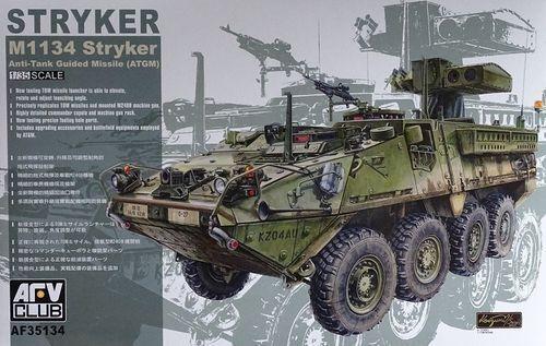AFV CLUB  M1134 STRYKER ATGM 1:35 Cod.35134
