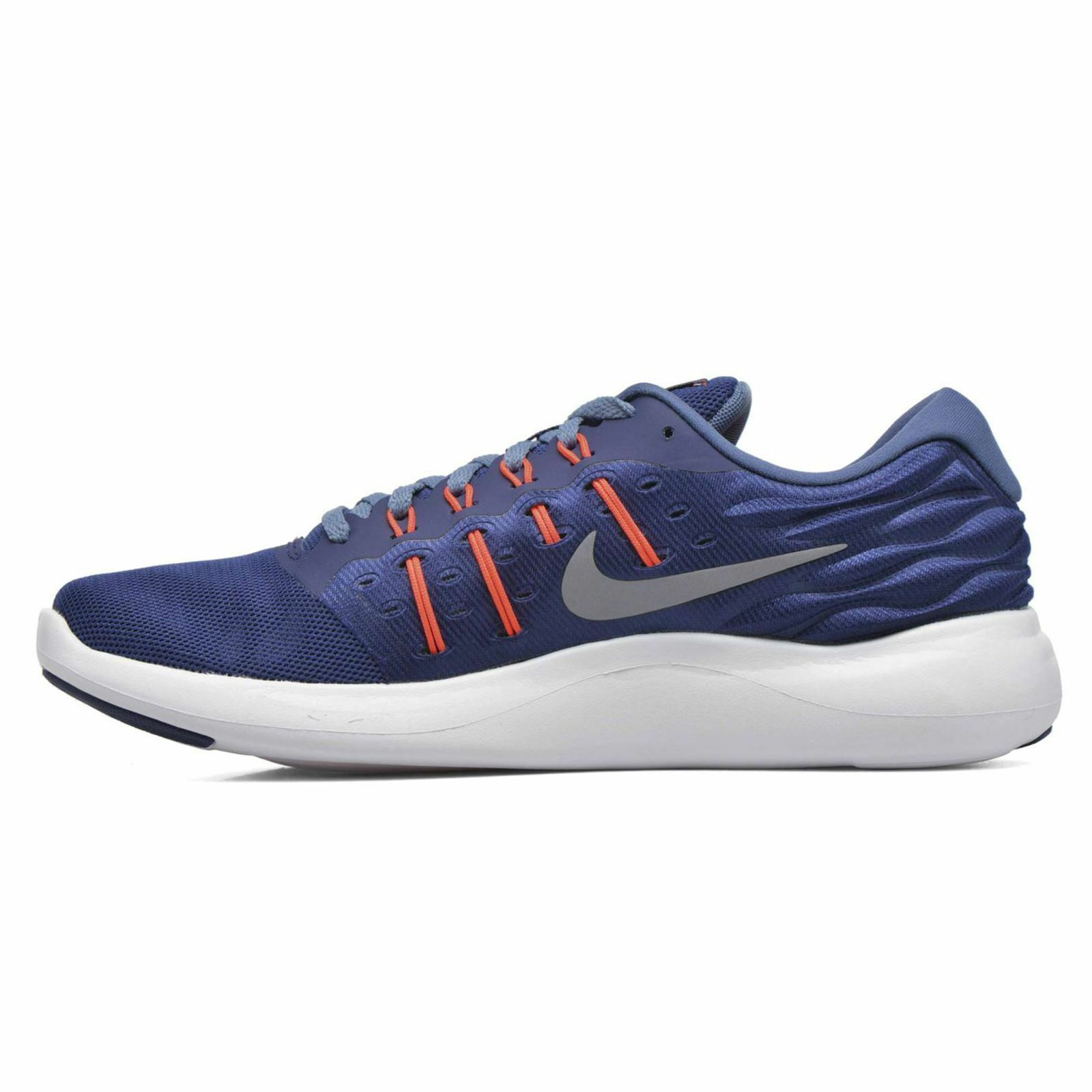NEW Nike Lunarstelos Blue &  Gris  Trainers / Running Shoes.