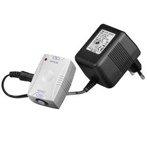 Audio-Koaxial-optical-optisch-Adapter-Wandler-Opto-mit-rotem-Licht-auf-Cinch