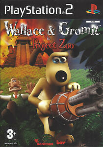 WALLACE-amp-GROMIT-IN-PRJECT-ZOO-for-Playstation-2-PS2-with-box-amp-manual-PAL