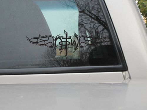 Not of this World Flame Sticker NOTW Tribal Vinyl Decal You Choose Size /& Color