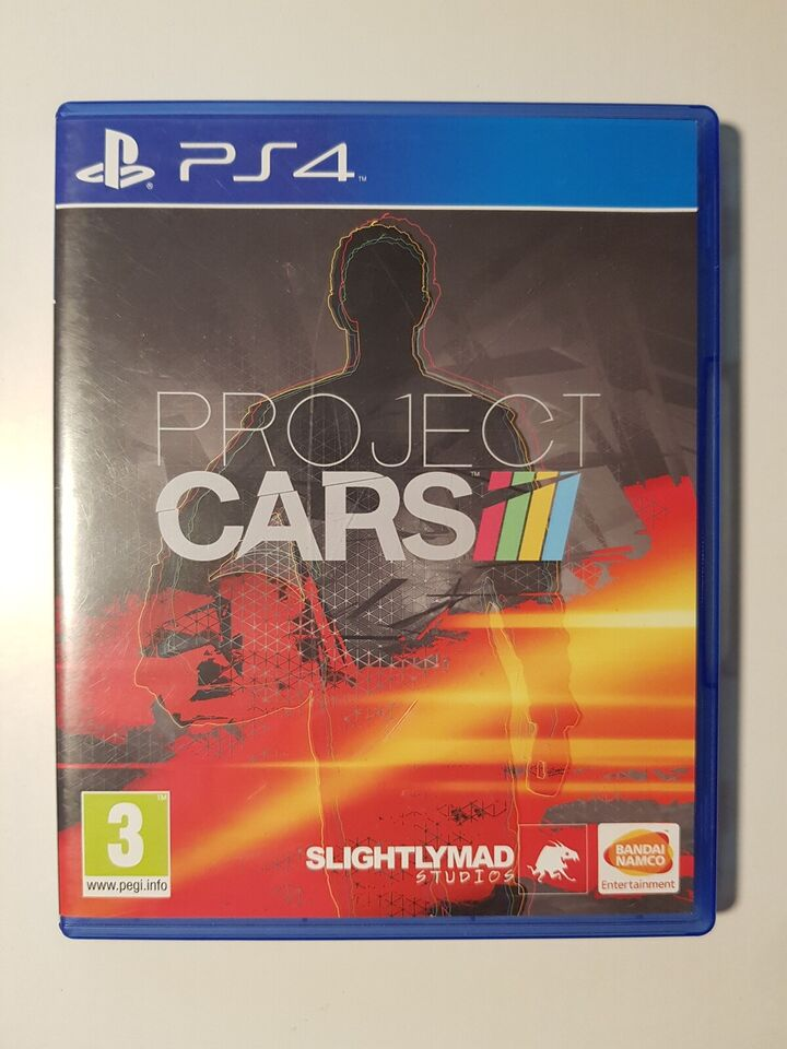 Project Cars, PS4