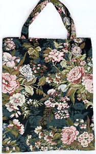 Blumen-Einkaufsbeutel-Pfingstrose-Gobelin-Tapestry-Shopper-Einkaufstasche