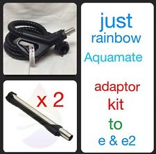 Newest Aquamate Adopter Kit For Rainbow e and e2 Electric Hose 8' And 2 Wands