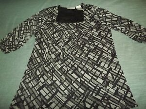 LADIES-WORTHINGTON-LINED-METALLIC-SPARKLE-BLOUSE-sz-SMALL