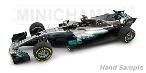 Minichamps 410170077  V. Bottas Spanish GP 2017 Mercedes AMG Petronas