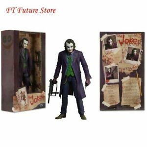 "NECA FIGURINE THE JOKER 7/""  Batman Dark Knight Le Chevalier noir Joker"
