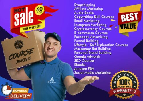 2.0 TB Worth of Value BundleBusiness Course BundleINSTANT DELIVERY