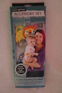 Horizon-Accessory-Set-Bling-your-Own-Baby-Fashions-Iron-on-Appliques-New