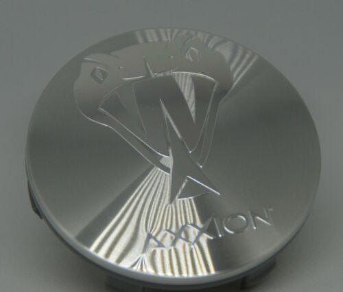 Axxion 70 mm 1 trozo orginal tapacubos llantas tapa plata cepillado Z 07