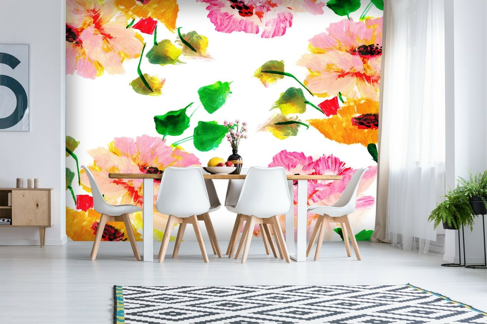 3D Flower 761 Wall Paper Print Wall Decal Deco Indoor Wall Murals US Summer