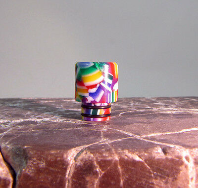 *STACK ON, Confetti 510 DRIP TIP, VAPE, Made in USA by Smart Tips!