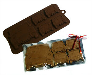4-1-Mini-Cooper-Classic-Car-Chocolate-Candy-Cookie-Silicone-Bakeware-Mould-Party