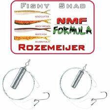 Drop Shot Mega Set  Outrigger 3 / Rozemeijer Fishy Shad